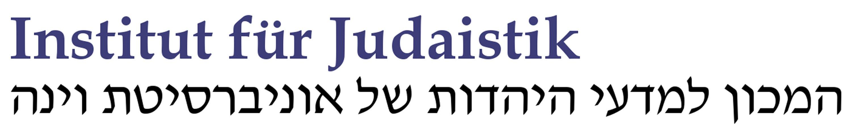 Logo Institut für Judaistik Wien