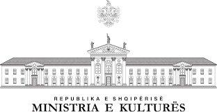 Logo Albanisches Kulturministerium