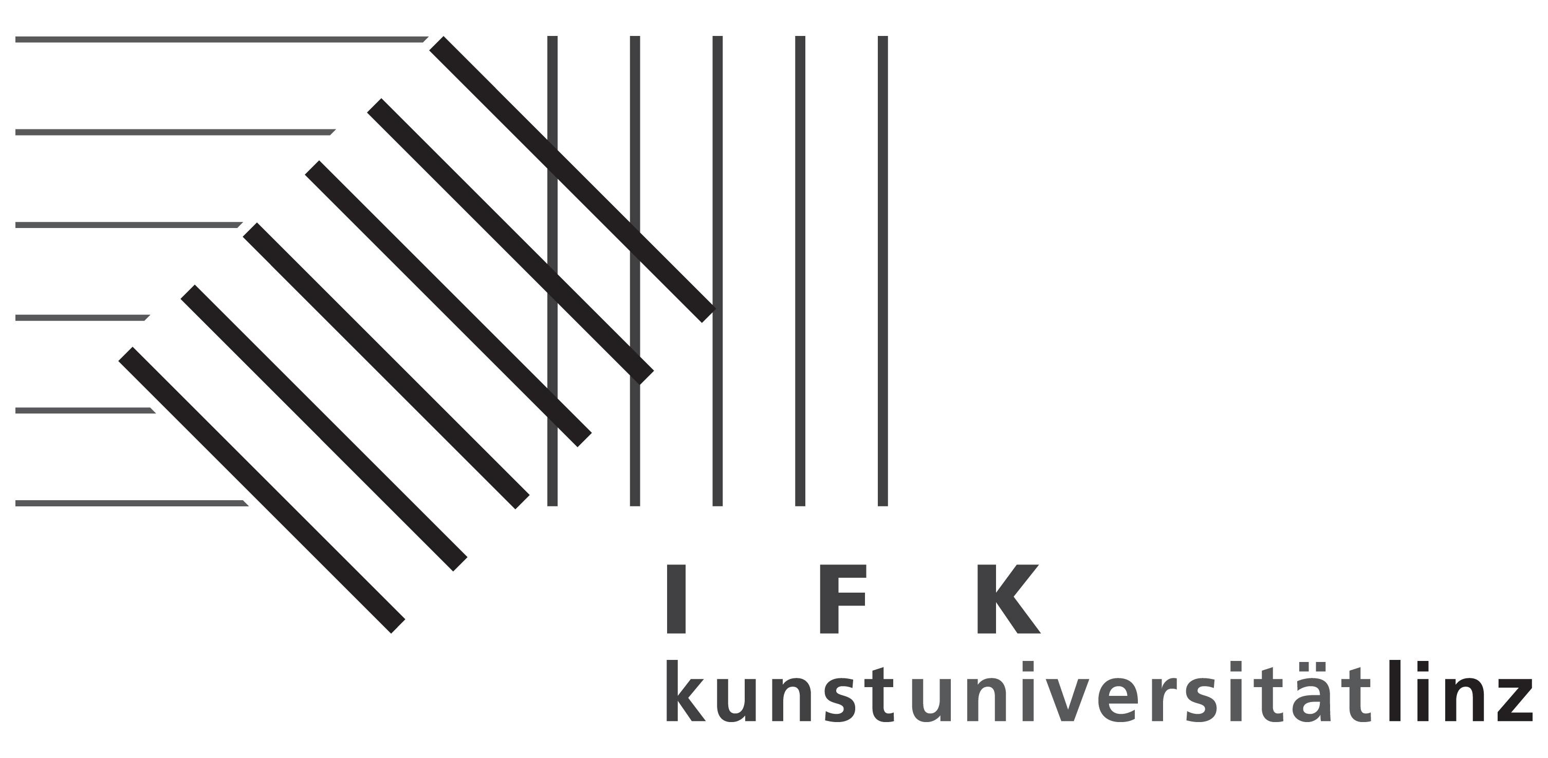 Logo IFK Kunstuni Linz
