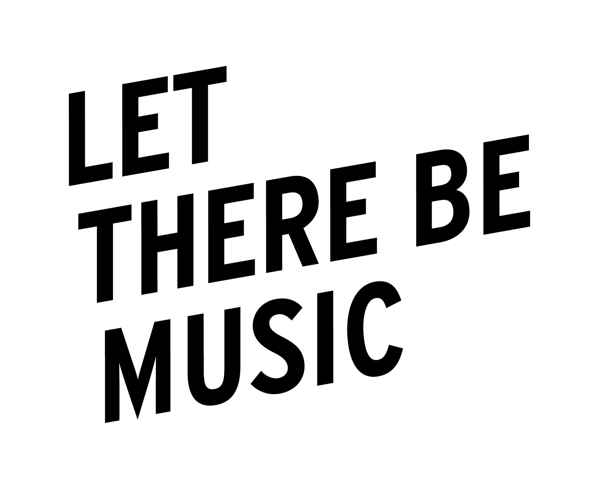 Sticker Let There Be Music